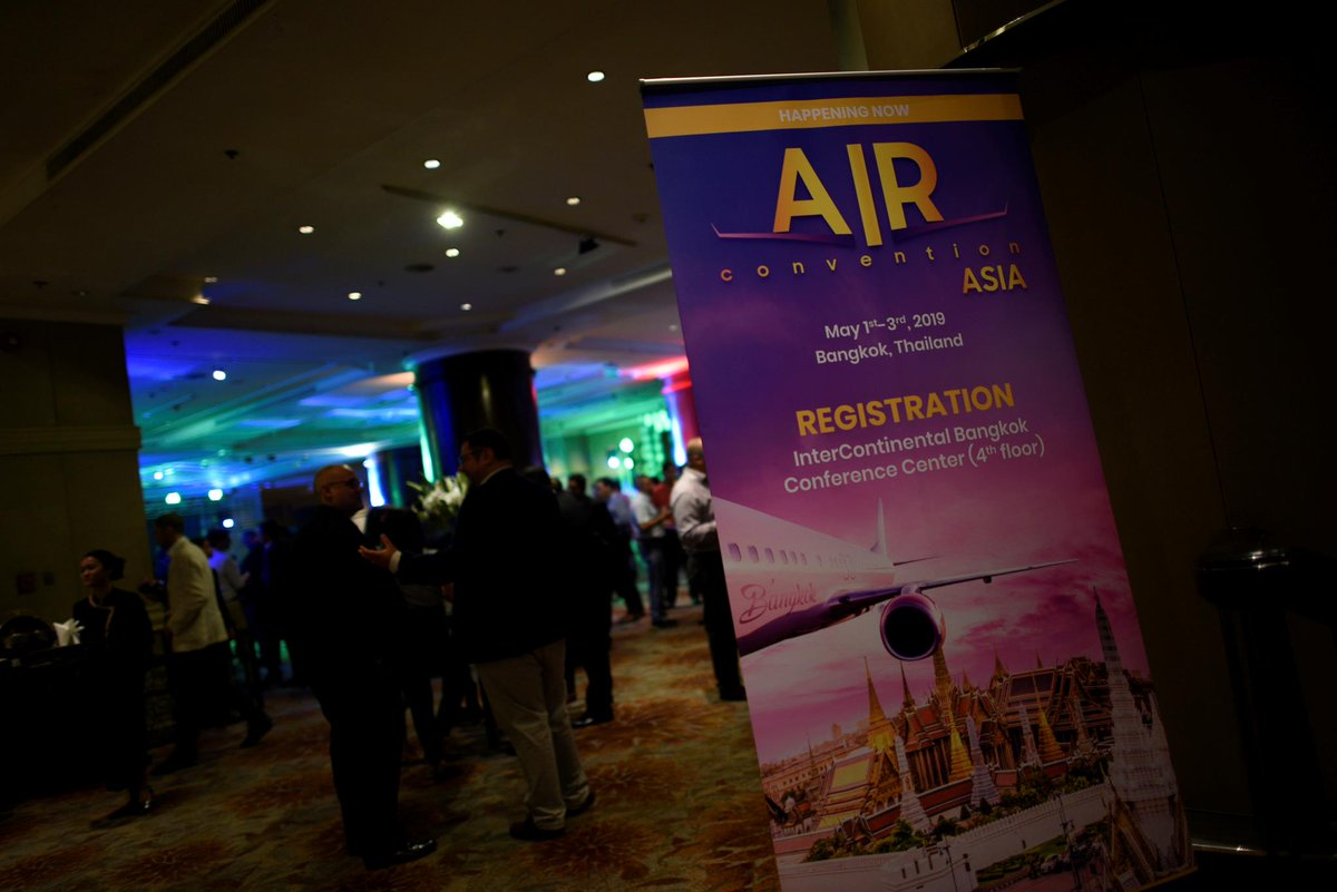 AIR Convention Asia is on! Five panels streaming on the Day 1: Overview Section, Airline Business, MRO, Consumer Behavior and AIR Tech. #AIRconventionASIA