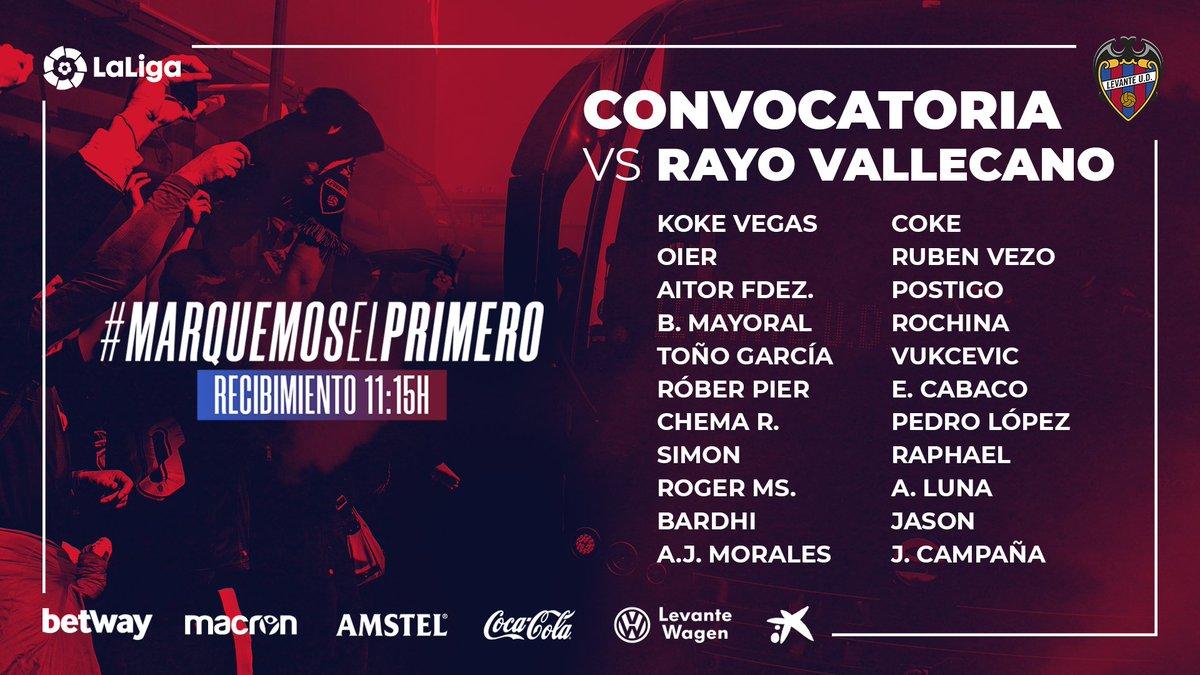 D5owLJWW0AEJjm9 Morales entra en una lista de 22 para recibir al Rayo - Comunio-Biwenger