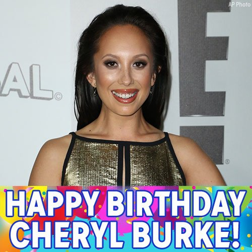 Happy Birthday, Cheryl Burke! We hope the dancer and model has a great day.