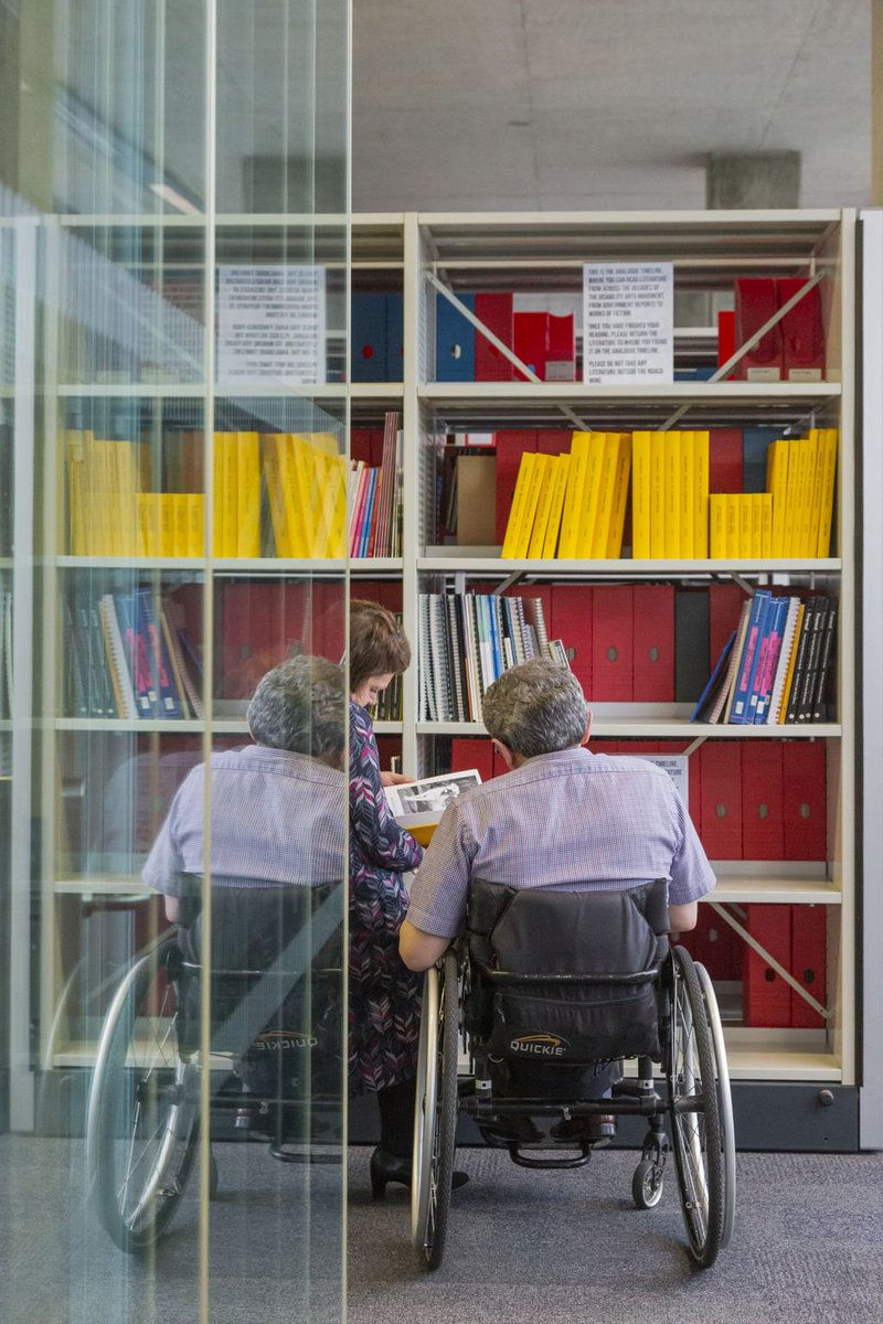 Were now home to the National Disability Arts Collection & Archive, the UKs first dedicated to the disability arts movement 🎨 🖼️ ☺️ bit.ly/2WWE5vr @BucksLib @ShapeArts