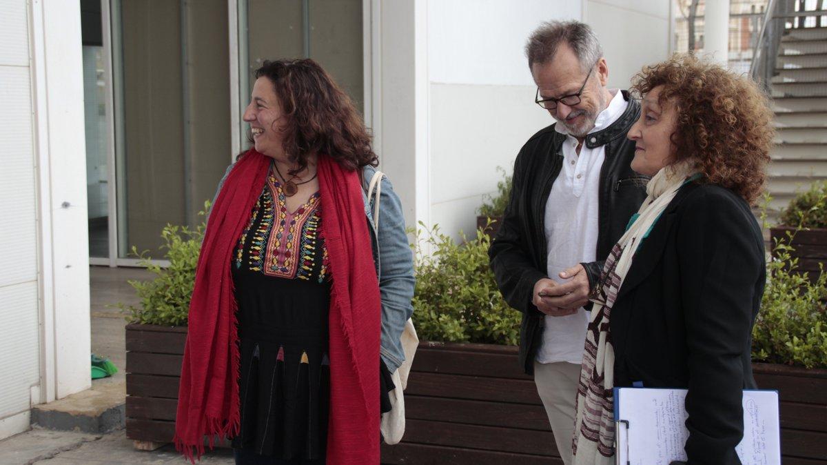A puntito de empezar #Idearia2019. Con @eroigbelloch , @verdejomar y Ángel Lora!  Y antes, una dinámica cortesía de las compañeras de Formigues Liles!  @Reas_Red @LasNavesINN @ideas_es
