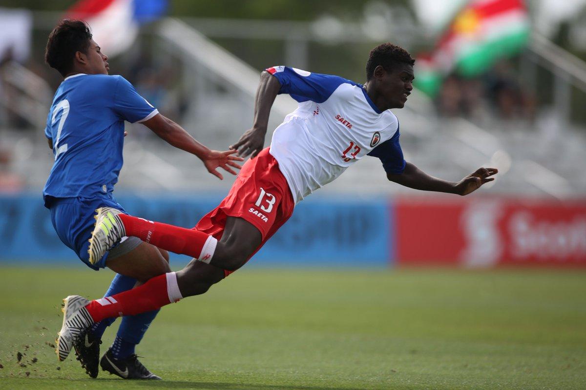 Sub17 Campeonato CONCACAF 2019 [Copa Mundo Brasil 2019] El Salvador 1 Haiti 4. D5p4J6EWkAARo_b
