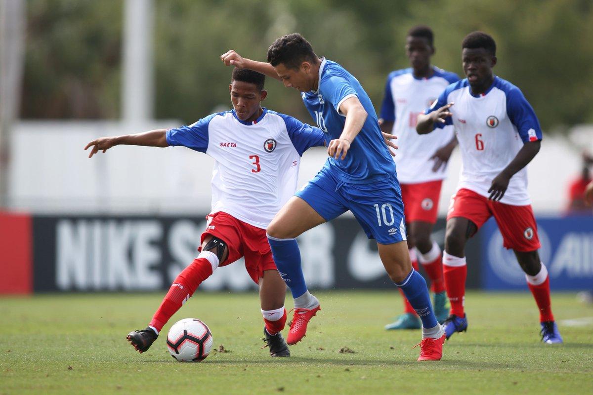 Sub17 Campeonato CONCACAF 2019 [Copa Mundo Brasil 2019] El Salvador 1 Haiti 4. D5p4N2RW4AAHvBn