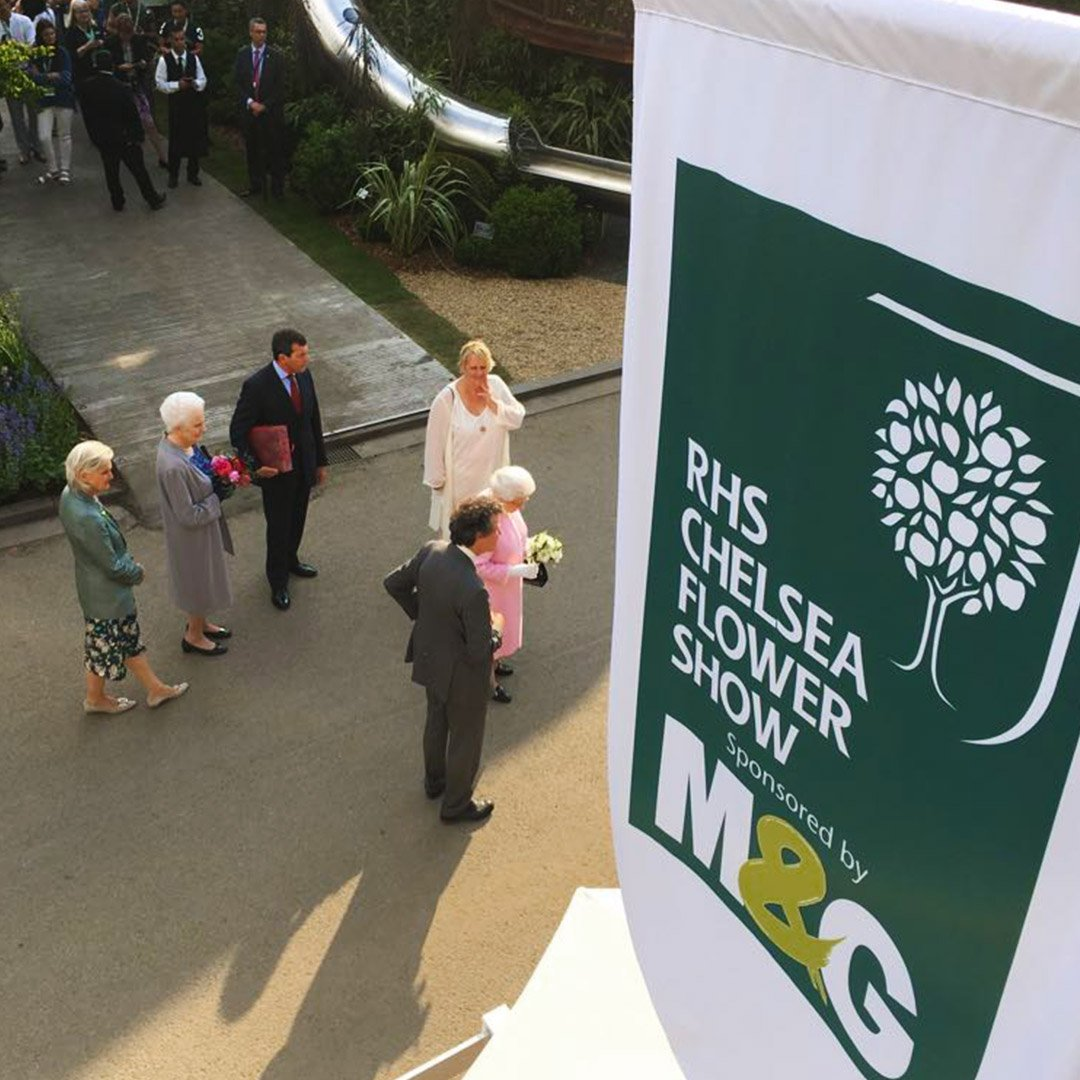 With preparation underway for this year's RHS - Royal Horticultural Society show at Chelsea we wanted take a look back at some of our previous work at this glorious event #EOL #eventprofs #London #Chelsea #RHS