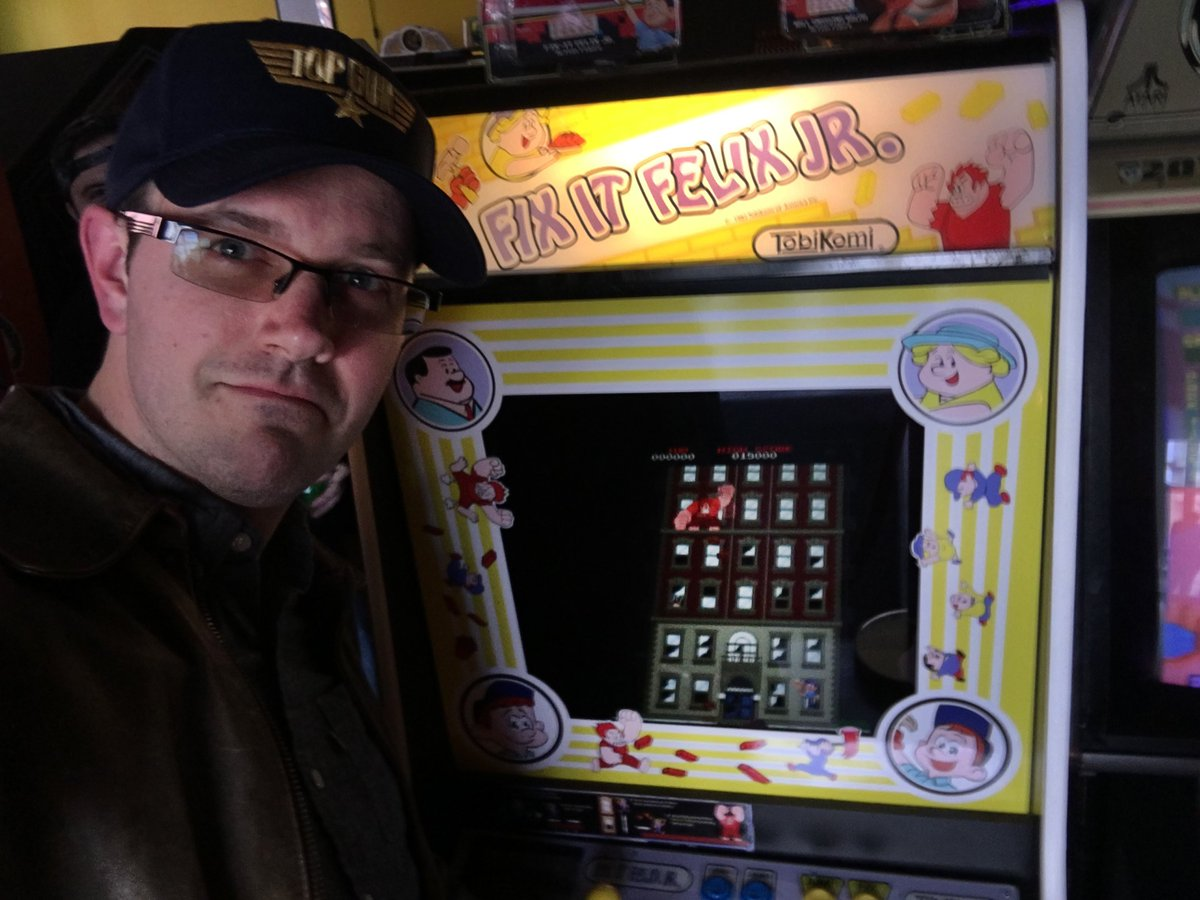 Had no idea this actually existed, until I saw (and played) it at @Timeline_Arcade Hanover PA.
