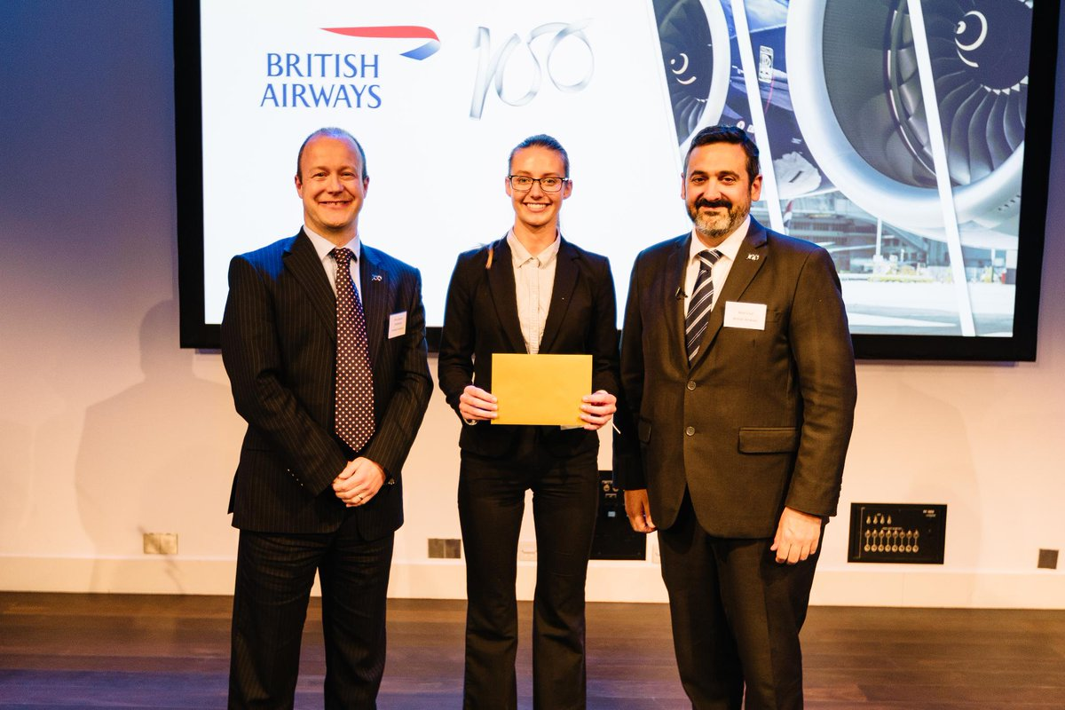 The runner up is the team from talented LSE who analysed power to liquid fuels. They receive £10,000 #BA100