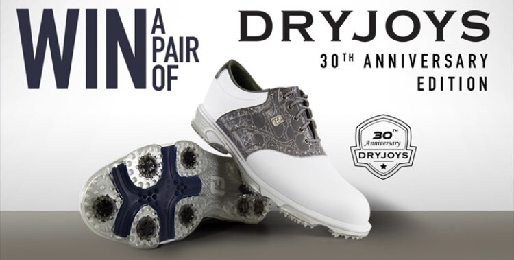 🚨LIMITED EDITION PRIZE 🚨  We're celebrating 30 years of DryJoys by giving away a pair of the limited edition 30th anniversary DryJoys Tour.  To enter: Follow us ✅ Retweet ✅ Tag a friend ✅  Comp closes at 1pm Friday May 10.