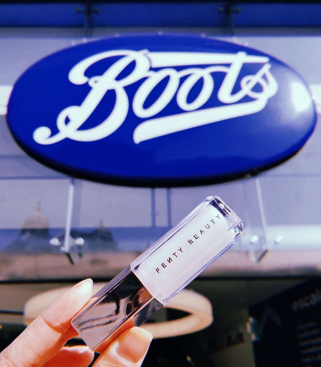 .@fentybeauty is officially taking over the UK! I'm here to announce our brand new partnership with @BootsUK !! Look out for us at locations from MAY 10th !! I'm so excited, I love Boots and I love my UK fans!!! Get ready for #FENTYBEAUTYxBOOTS !! 🇬🇧🇬🇧🇬🇧