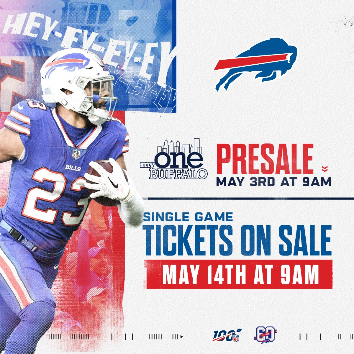 Discount Buffalo Bills on Twitter: It's time to get your single game tickets  free shipping