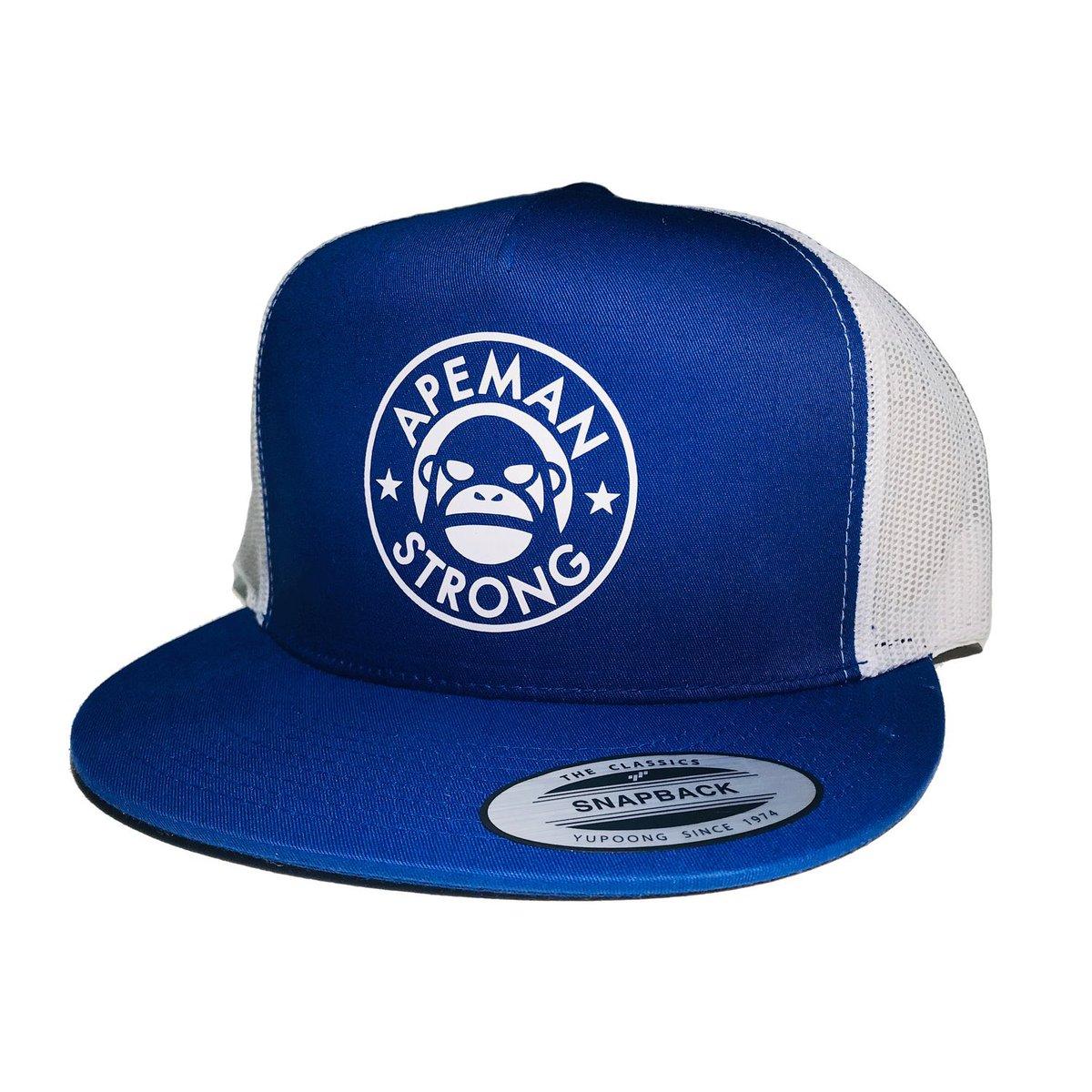 New Trucker Hats available. https://apemanstrong.com/trucker