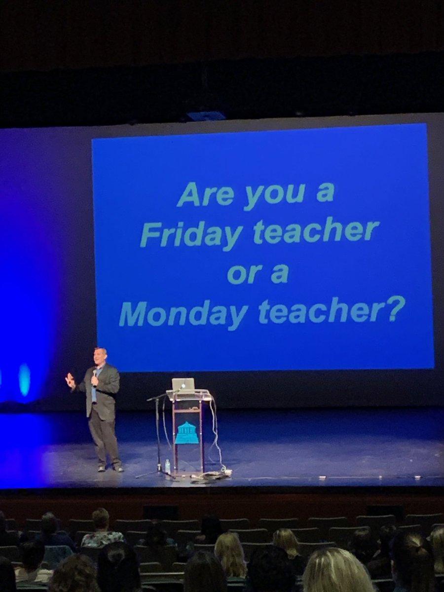 Let's be Monday teachers! @CommonGround19 #cgmd19 #dannyspeaks <br>http://pic.twitter.com/p1TnEmXiGA