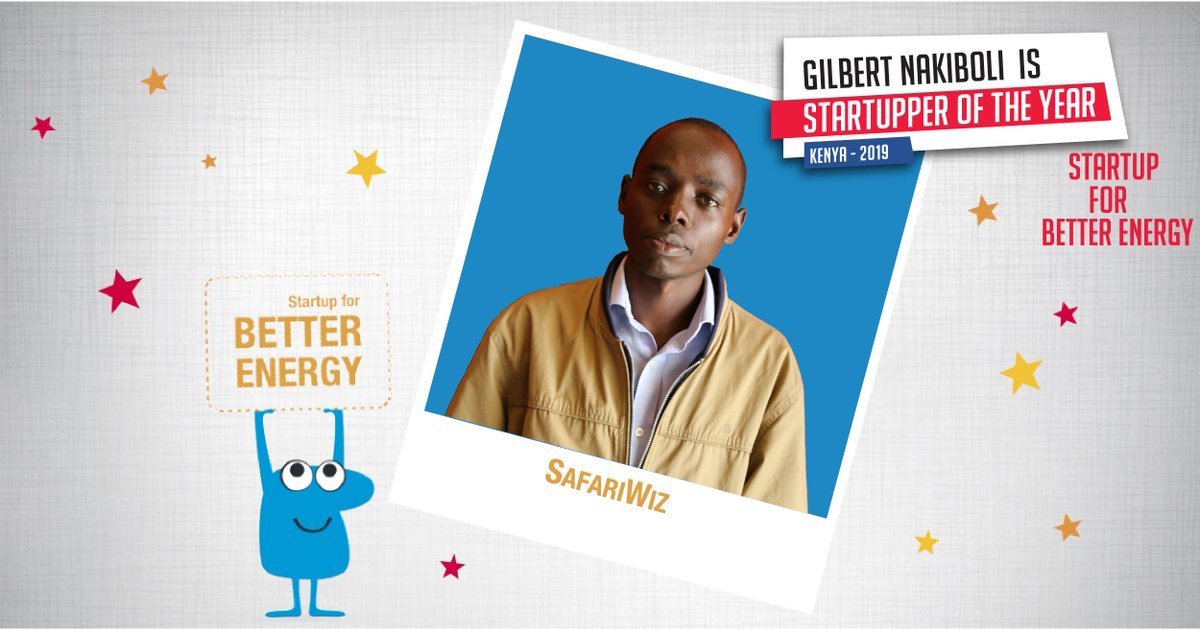 We celebrate Start-up for Better Energy in the 2019 #TotalStartupper of the Year Challenge: Gilbert Nakiboli of @SafariWiz  💡 App updates you on road traffic conditions & emergency service providers such as Ambulance services. in real-time. Learn more >> http://tot.al/CWrgIH