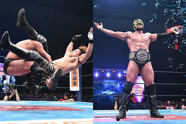 NJPW: Wrestling Dontaku 2019 Día 1 Taichi triunfa, Dragon Lee retiene 8