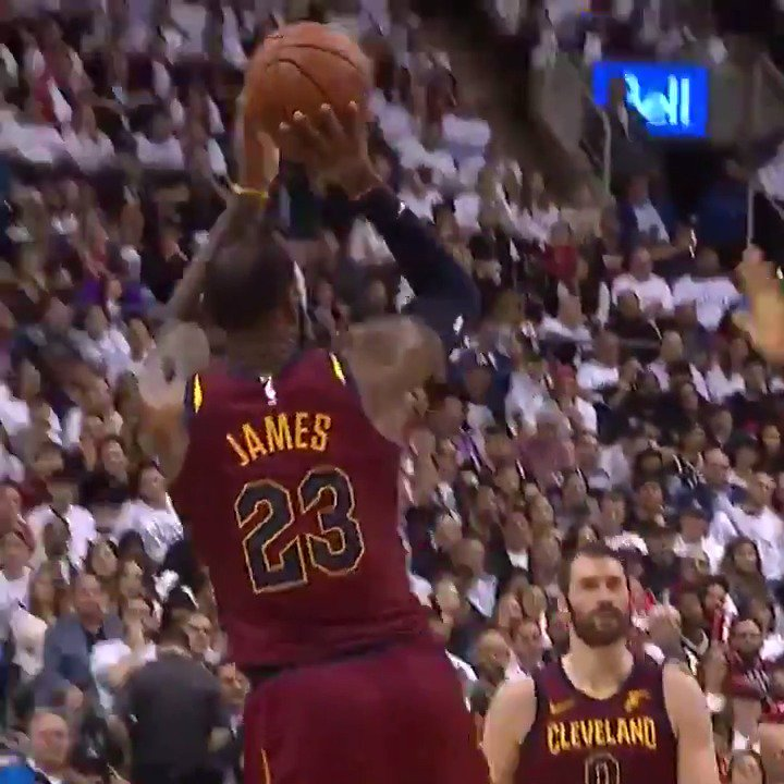 The TL needs some Basketball highlights Rn so here's Lebron destroying the Raptors