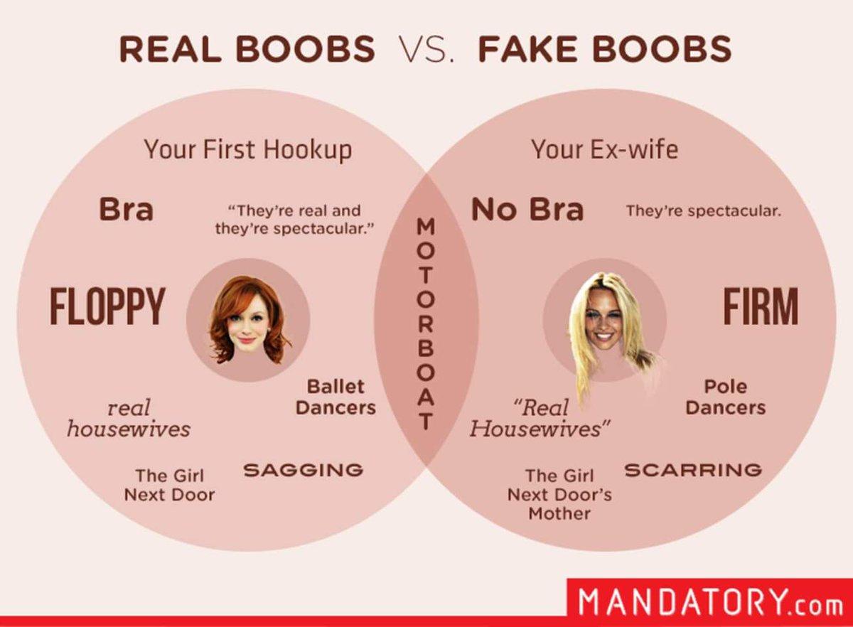 Fake or real boobs