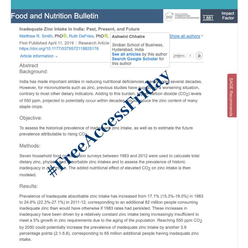 Food & Nutrition Bulletin (@FNBjournal) | Twitter
