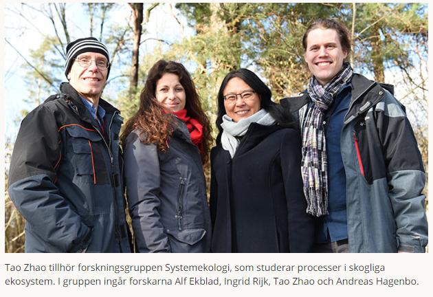 Stoppa kommunikationen mellan barkborre och svamp för att skydda skogen #forskning https://www.oru.se/nyheter/stoppa-kommunikationen-mellan-barkborre-och-svamp-for-att-skydda-skogen/…