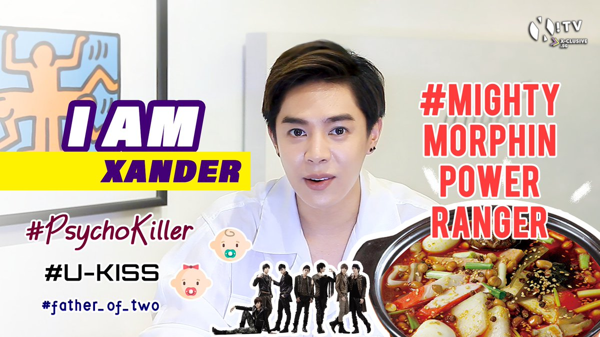 Meet #Xander (@alexander_0729) who is a #Father_of_two, a #PsychoKiller & a #MightyMorphinPowerRanger!? 🤣 Watch as he spills his secret(?) desires, scandals(?) & more in our I AM Special Interview with Xander! Watch NOW ➡️youtu.be/DgQI9q_ZHII