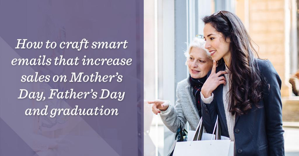 Have you prepped your #MothersDay, #FathersDay and #graduation email promotions? Here's how to get started: https://t.co/jLGUi0jd78 https://t.co/i2Nhrlk92Q
