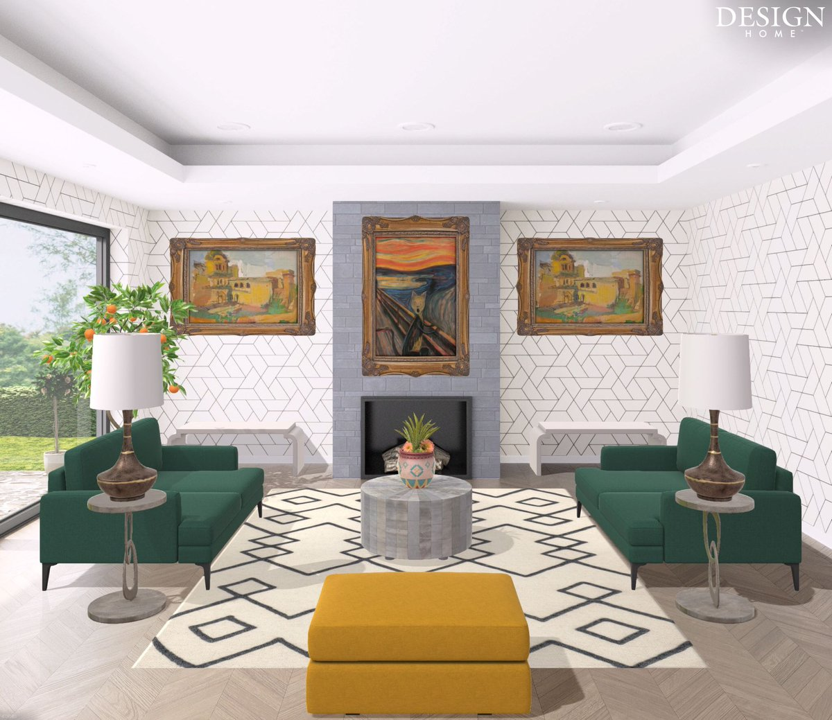 Feng Shui Style On Twitter A Sleek Living Room With