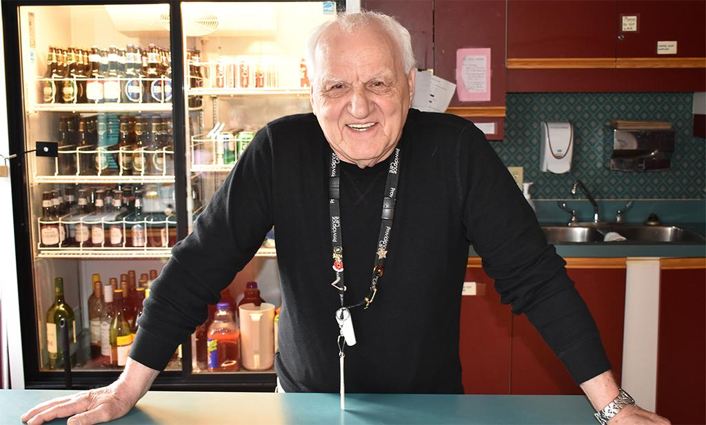 test Twitter Media - Going from table to table, dropping one-liners here and wisecracks there - Bob Boles is one volunteer you'll definitely want to meet. The 73-year old serves up double doubles with zingers at Providence Manor. Read more: https://t.co/to0k28Ul2q  #morethanhealthcare https://t.co/Piq07Pa4Vl