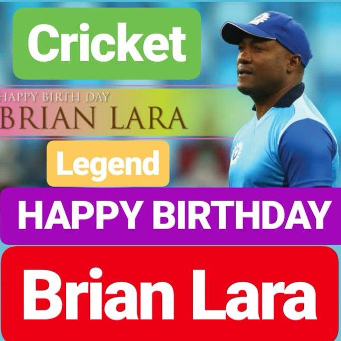 HAPPY BIRTHDAY Brian Lara