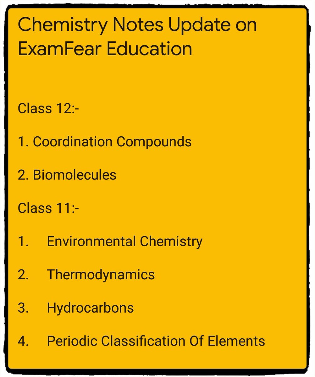 Examfear class 12 chemistry aldehydes and ketones