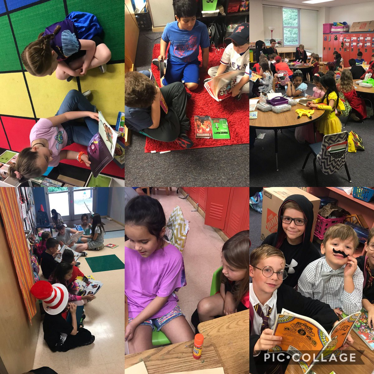 Celebrating literacy and children with our third grade buddies! #osestars #literacy