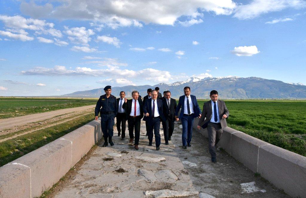 Vali Mustafa Tutulmaz Bolvadin ilçe sınırları içerisinde bulunan Tarihi Kırkgöz …