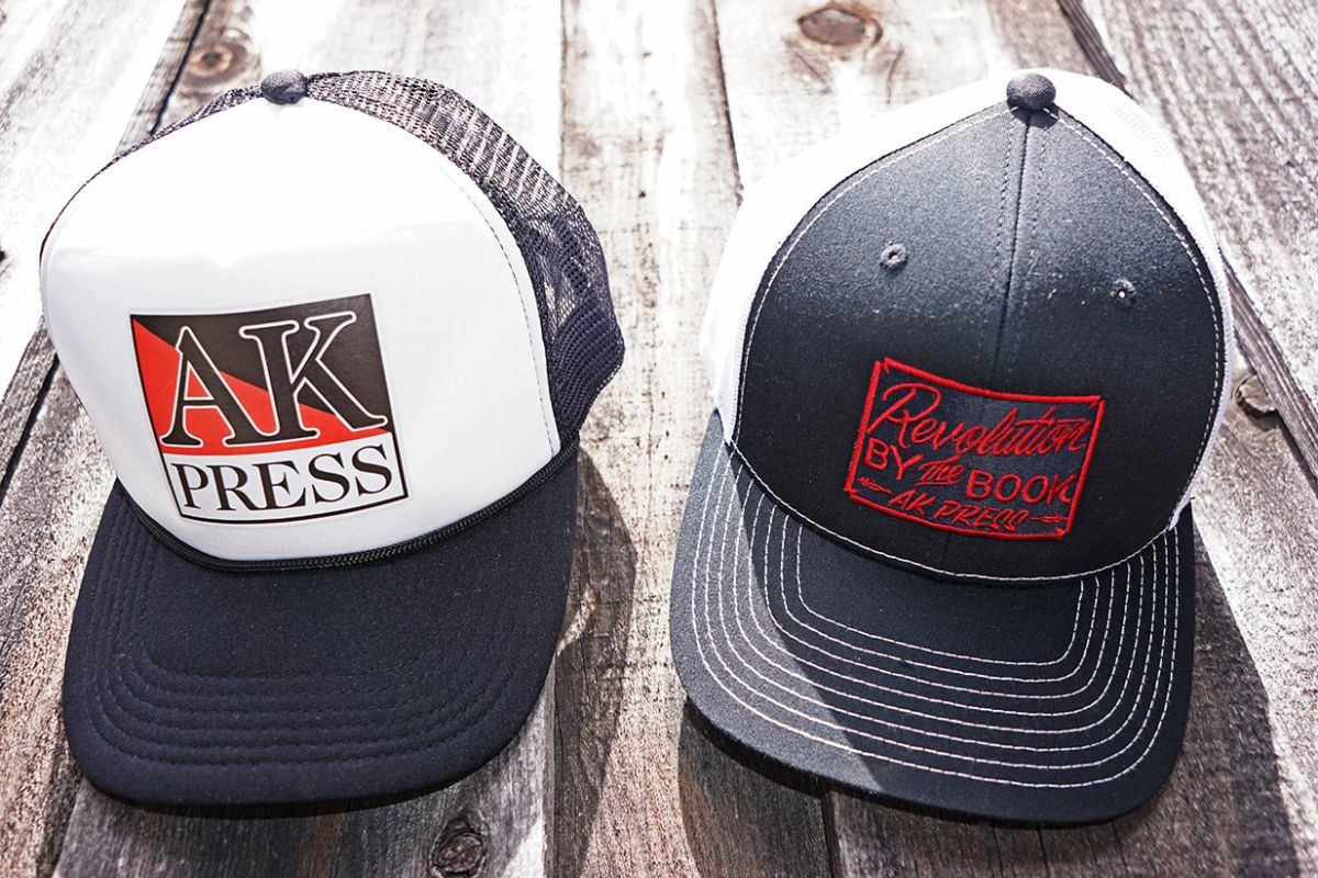 3fdf3ab2 New AK trucker hats:  https://www.akpress.org/catalogsearch/advanced/result/?name=Trucker+Hat&description=&sku=&price%5Bfrom%5D=&price%5Bto%5D=&isbn13=  ...
