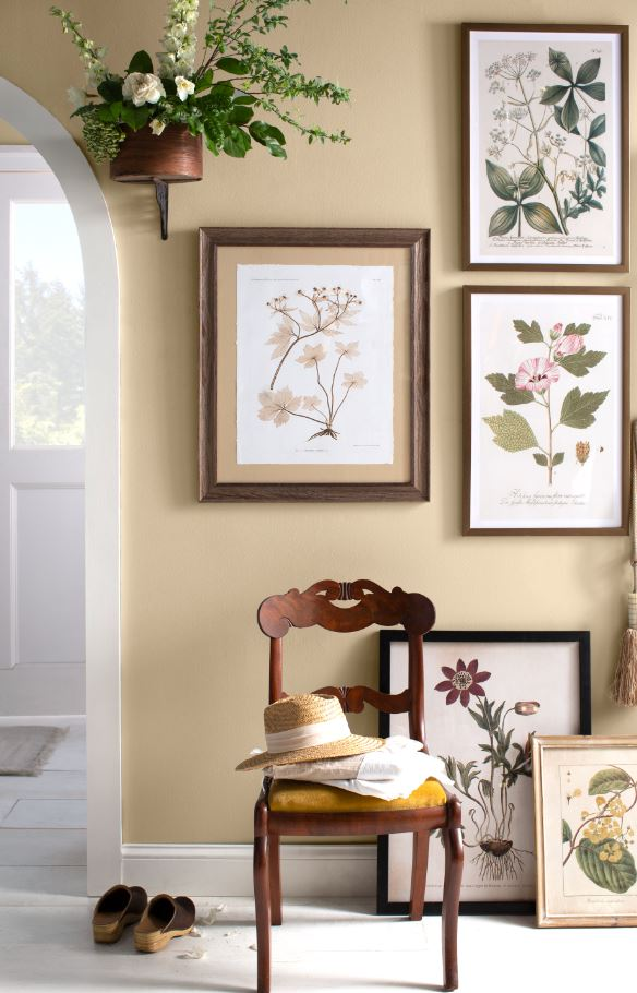 Spring continues – right through the entryway 🌼 Shop these botanical prints through the link! bit.ly/2UZnpH5