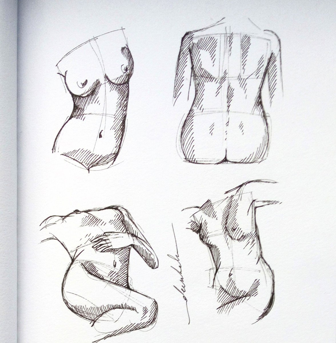 Quick sketch #dailyart #dailyillustration #quicksketch #bodyproportions #figuredrawing #figurativedrawing https://t.co/SeMx85wSER