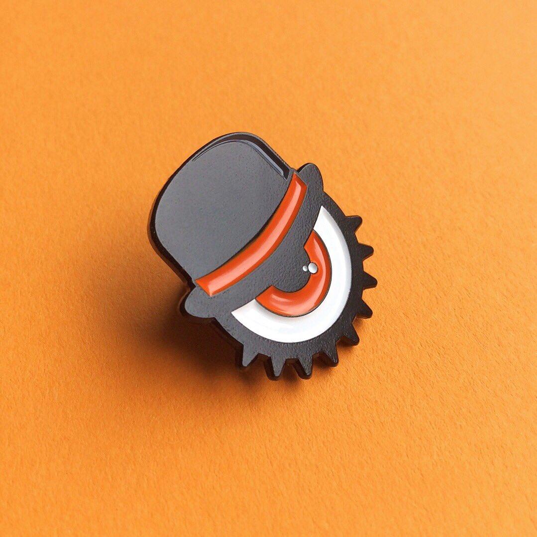 """4 1/"""" A Clockwork Orange Ultra Violence Droog pinback badges buttons"""