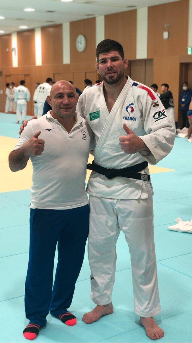 Un petit Clin d'œil de @PhilippeTaurines  et @CyrilleMaret au Centre olympique de Tokyo https://t.co/v6q4SMAOW4