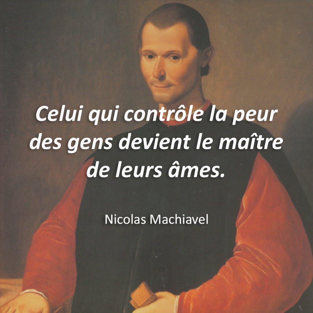 Citations Du Monde No Twitter Celui Qui Controle La Peur Des