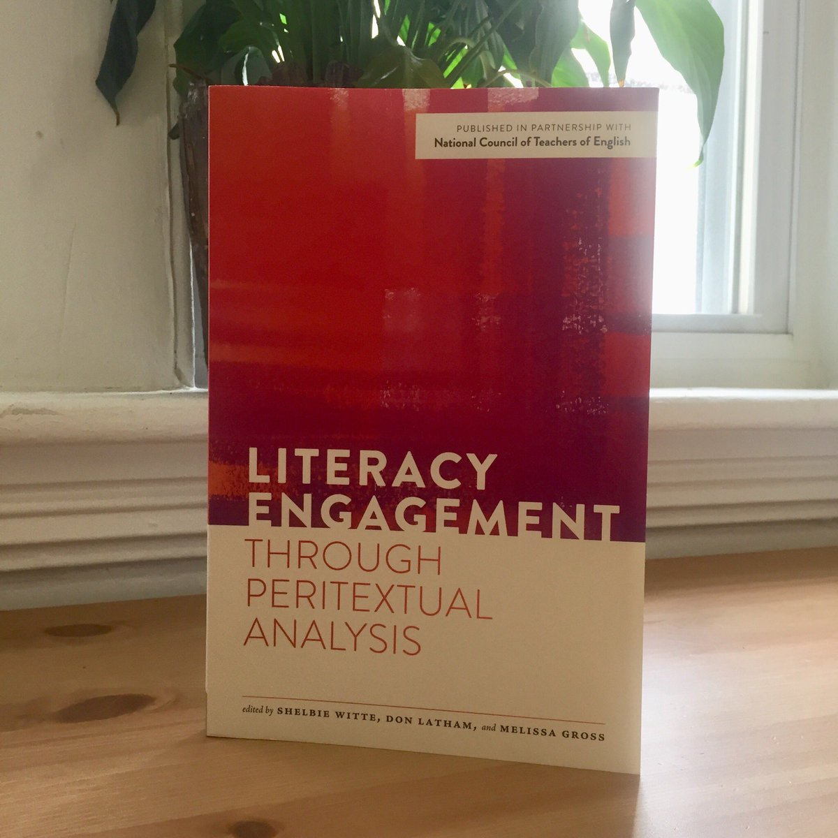 Super excited to read this new volume edited by @shelbiewitte, Don Latham, and Melissa Gross! Interested to learn more about peritextual analysis 🤔🤯 #edchat