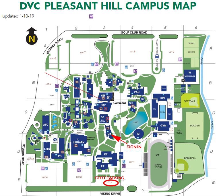dvc pleasant hill campus map Martinez Cert On Twitter All Cert Welcome To Participate In The dvc pleasant hill campus map