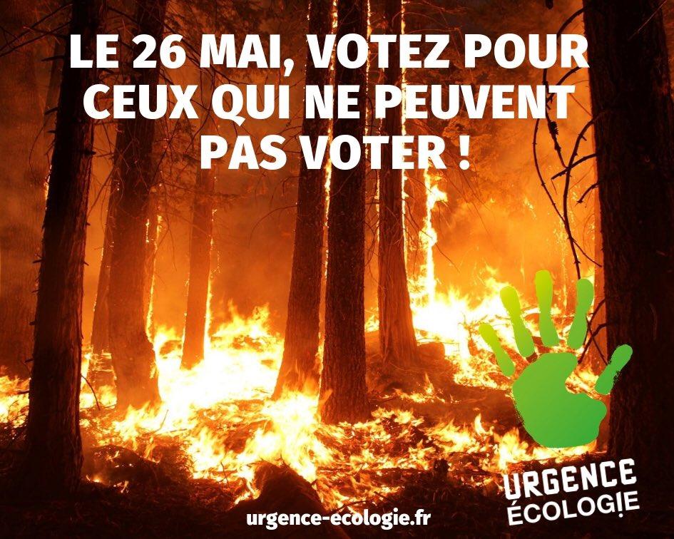 «Notre maison brûle».... et #UrgenceEcologie propose de ne pas regarder ailleurs ! cc @bourg_d