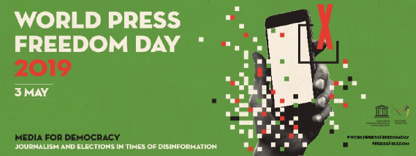 NEW BLOG: @mchakchouk and @montoya_sil give an overview of the latest developments and data collections in promoting freedom of expression and access to information ow.ly/biR130oxy8l #SDG16 #WorldPressFreedomDay #pressfreedom