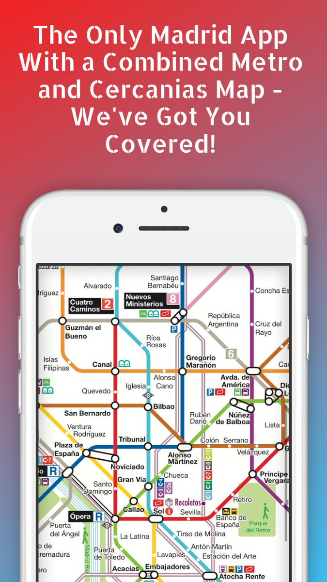 On Twitter We Ve Just Updated Our Madrid Metro App