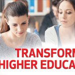 Image for the Tweet beginning: Transforming higher education processes starts