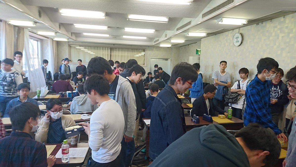 名城大学将棋部さんの投稿画像