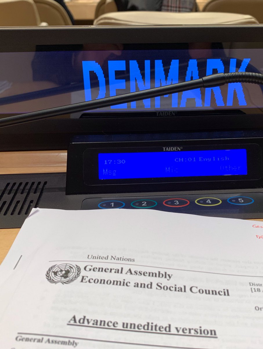 Thank you, DSG @AminaJMohammed for briefing today on progress of reform of UN Development System. Member States highlighted importance and urgency of continued reform. All #UNDS organisations need to continue to constructively deliver their part, as do Member States.
