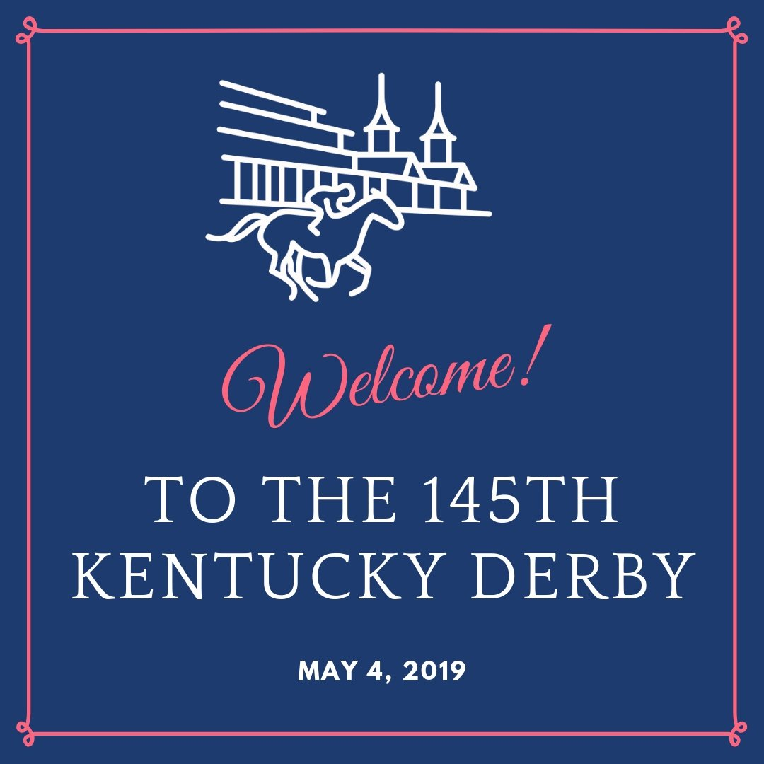 Welcome to the 145th #KYDerby