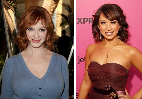 HAPPY BIRTHDAY !  Christina Hendricks  and  Cheryl Burke