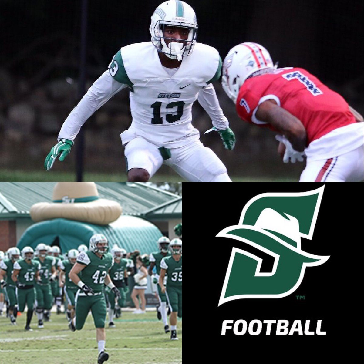 Thankful to receive first offer from Stetson University ‼️🙏🏾 @EHill80 @DHS_Titans @coachbkyoung @RecruitGeorgia