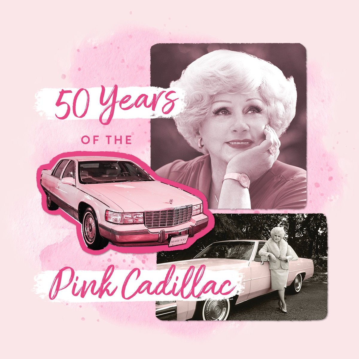 Mary Kay Inc On Twitter Celebrating 50 Years Of The Fabulous Pink Cadillac Drop A If You Love This Classic Car Marykay Https T Co Zwxdnkxrsr Https T Co Gvx2uou5x2