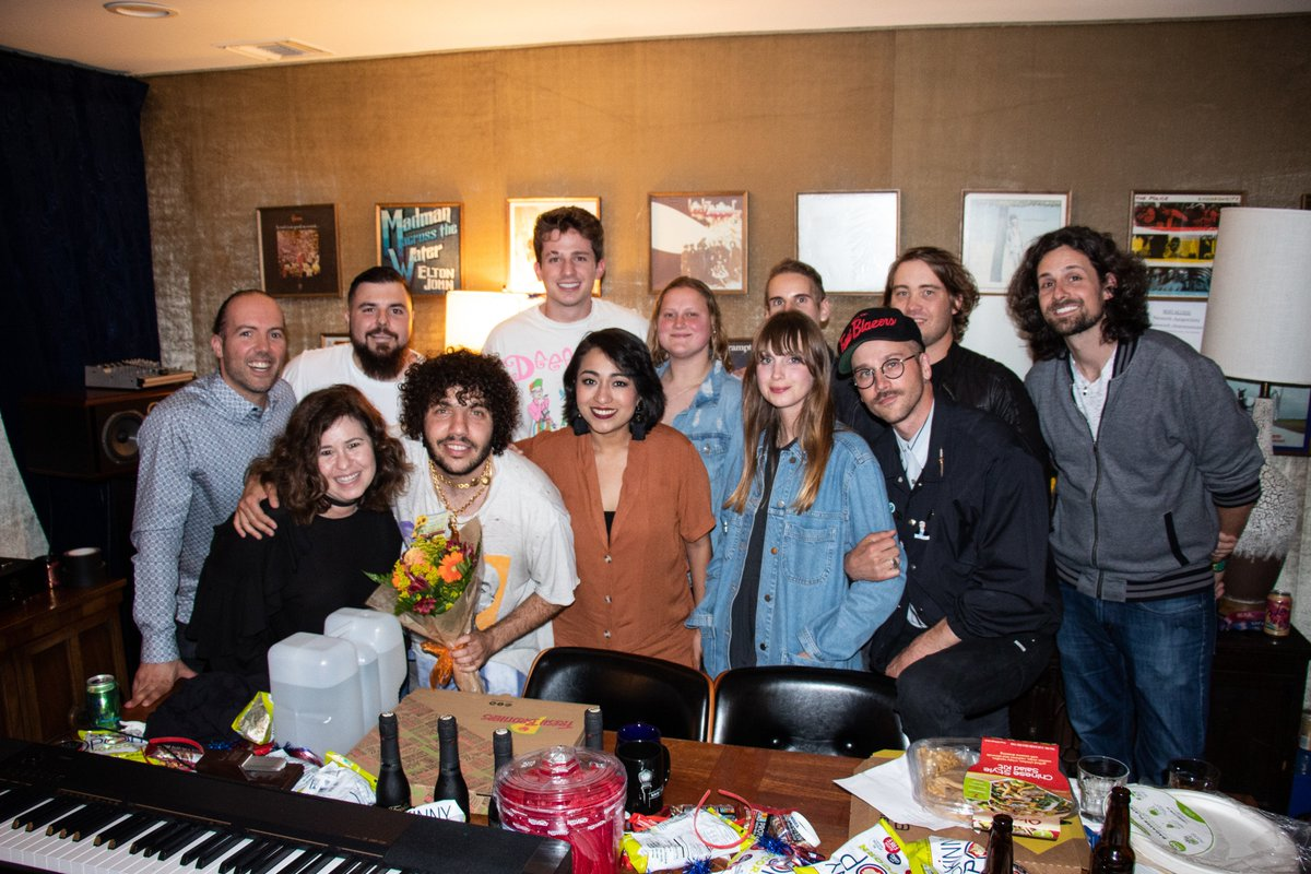 What an incredibly beautiful night.. The Play It Back music program pairs cancer patients and survivors with musical backgrounds with musical producers and artists to write and record songs. Thank you to Portugal. The Man, Benny Blanco and Charlie Puth for your amazing support!