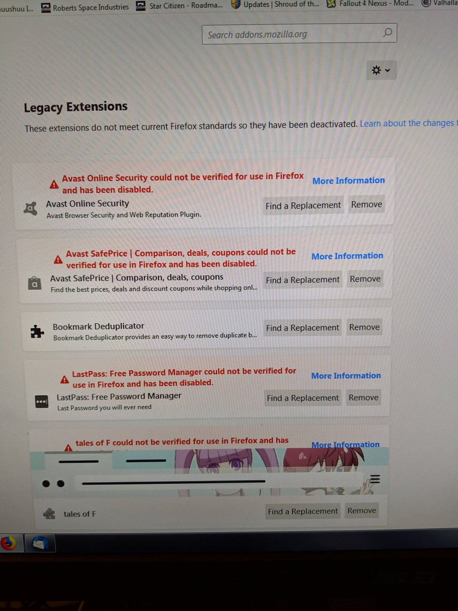 Lastpass Firefox Extension Not Working