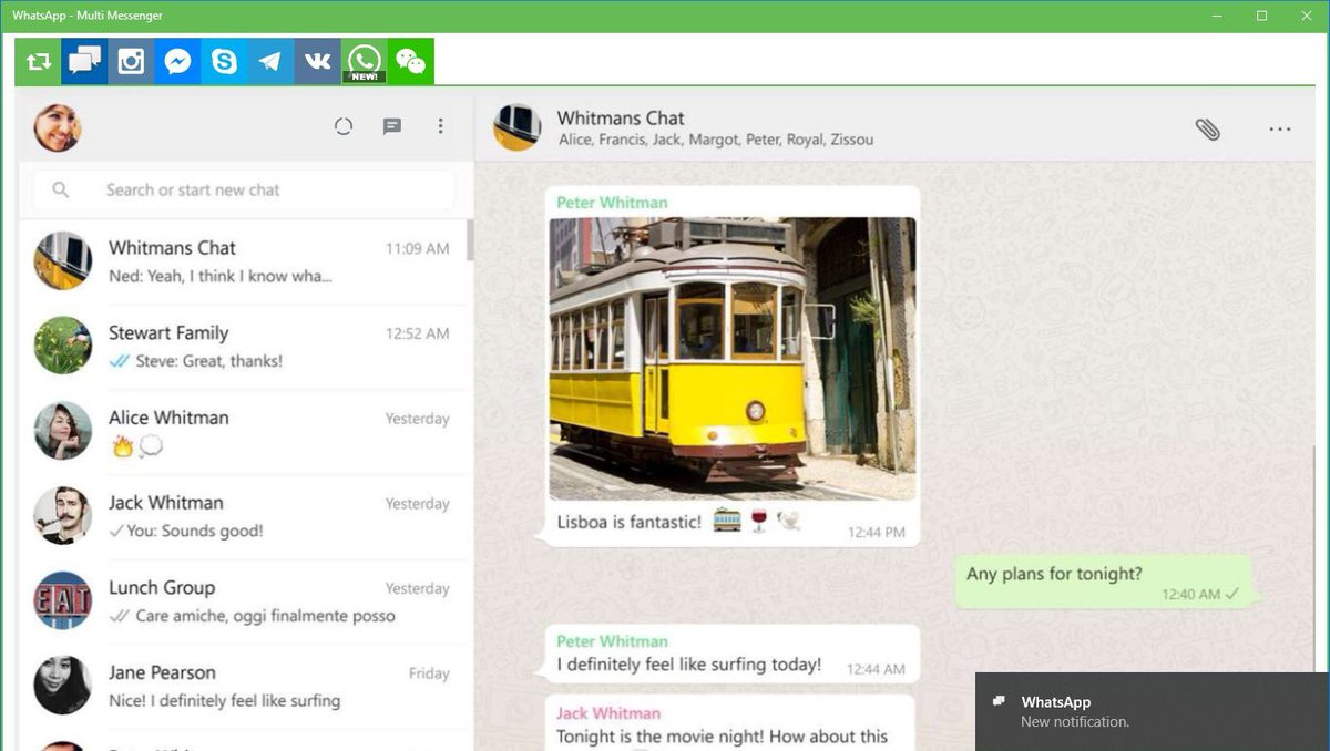 Multi Messenger for Windows 10 & Xbox (@multi_messenger